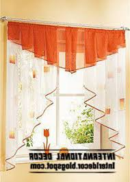 Orange And White Curtains Orange Kitchen Curtains Kenangorgun