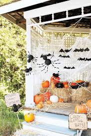 frightening farmhouse halloween porches the cottage market