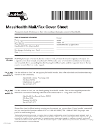 Free Download Fax Cover Sheet by Masshealth Fax Cover Sheet 3 Free Templates In Pdf Word Excel