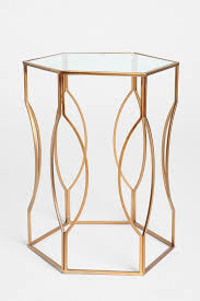 quirky end tables best 25 gold side tables ideas on pinterest gold nightstand