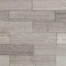 shop 9 pcs sq ft wooden beige 2x8 brushed stone tile at tilebar com