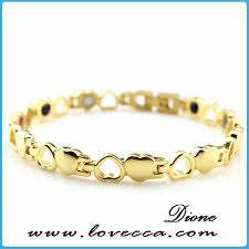 magnetic gold bracelet images Magnetic bracelet gold bracelet designs women buy tungsten jpg