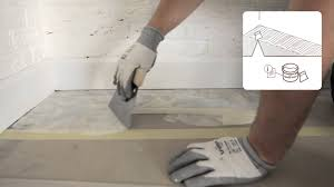 how to install a vinyl floor glued installation