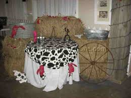 cowboy baby shower centerpieces western supplies ideas