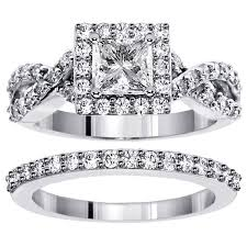 square set rings images 2 00 ct square halo princess cut diamond engagement set in 18kwg jpg