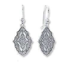 earrings brand pandora sparkling lace earrings original brand new 290563cz ebay