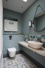 cloakroom bathroom ideas best 25 blue bathroom tiles ideas on blue tiles