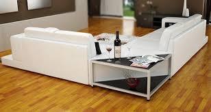 canape angle avec meridienne canapé d angle en cuir à prix discount 2