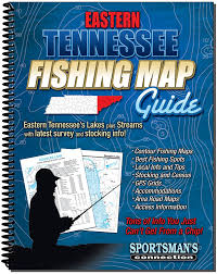 Map Of Eastern Tennessee by Amazon Com East Tennessee Fishing Map Guide Fishing Charts And