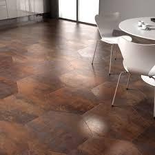 copper hexagonal tiles textures