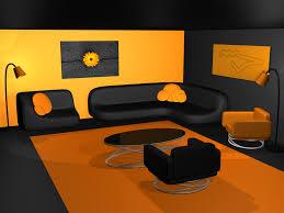 Yellow Black Room Orange And Black Room Ideas Google Search Interior Design