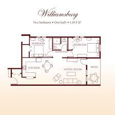 williamsburg suite two bedroom suite at detray u0027s colonial inn