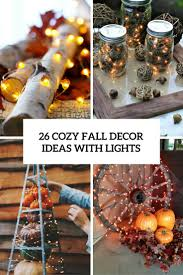 Autumn String Lights by