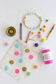party favor bags diy polka dot party favor bags julep