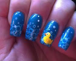 rubber duckie nailart nail art pinterest duck nails white