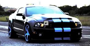 Blacked Out 2014 Mustang Supercharged Mustang Gt500 Black Mamba Awesome Video Cars