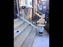 outdoor stair lifts for sale 267 210 8499 pa de nj youtube