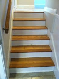 Painting Bamboo Floors Bamboo Stair Treads With Lewan Plywood Risers Painted And Trimmed