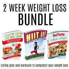 2 week weight loss jump start bundle