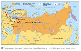 russia map before partition age of absolutism