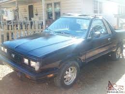1986 subaru brat classic 4 wd t top subaru brat pick up