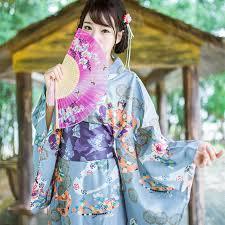 kanagawa kabuki kawaii girls japanese traditional kimono dress