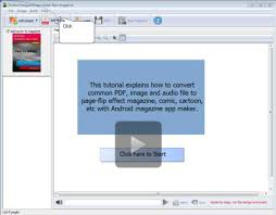 tutorial android pdf convert pdf and diverse format images into apps for android