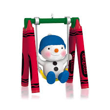 hallmark 2014 in the swing of things crayola ornament