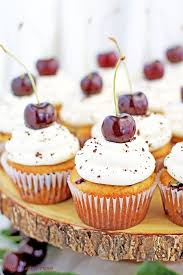 cupcakes recipe cherry vanilla cupcakes recipe valya s taste of home