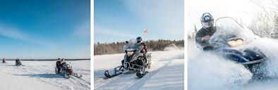 Price Of Rides At Winter Snowmobile Auberge Le P Bonheur