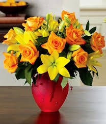 roses and lilies citrus roses lilies at from you flowers