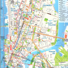 Midtown Manhattan Map Manhattan Subway Map With Streets New York City Maps Throughout