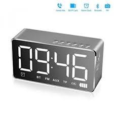 mari lihat sekarang alarm clock with bluetooth