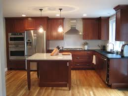 White Kitchen Cabinets With Gray Walls Enchanting Cherry Kitchen Cabinets With Grey Walls 25 Cherry
