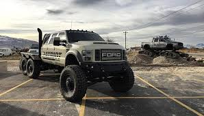 mud truck diesel brothers ford f 550 heavy d super six 6x6x6 monster throttlextreme