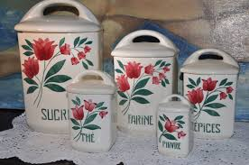10 off sale french kitchen canisters vintage french kitchen