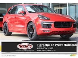 Porsche Cayenne Red Interior - 2016 carmine red porsche cayenne gts 108506207 photo 10