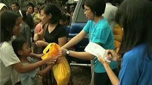 indonesia smokers help needy families during ramadan news