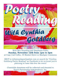 poetry reading at cape cod coffee u0027s mashpee commons cafe mashpee
