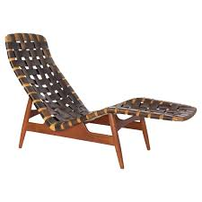 arne vodder chaise longue for bovirke circa 1950 for sale at 1stdibs