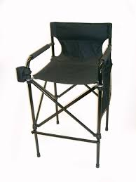 Folding Directors Chair With Side Table Tall Folding Directors Chair With Side Table Home Design Ideas