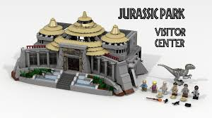 jurassic world jeep lego lego ideas jurassic park visitor center