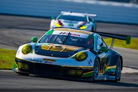 2017 imsa daytona no 28 alegra motorsports porsche 911 gt3 r