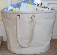 Canvas Laundry Hamper by Canvas Home Storage Bucket Bag Medium By The Original Canvas