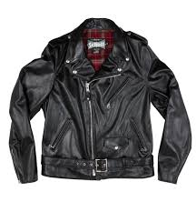 motorcycle clothing schott cowhide fitted motorcycle jacket u2013 iron and resin