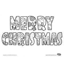 Merry Christmas Printable Coloring Pages Fun For Christmas Merry Coloring Pages Printable