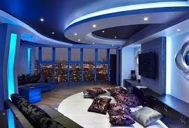 House Colour Combination Interior Design by Blue And White Interiors Living Rooms Kitchens Bedrooms And More
