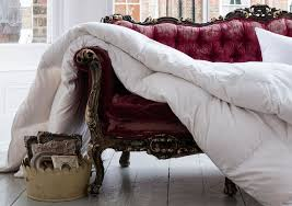 softened goose feather duvet