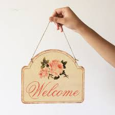 Home Decor Places Aliexpress Com Buy Welcome Signs Bar Cafe Restaurant Home