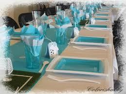 deco de table pour anniversaire decoration anniversaire colorishabby